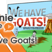 We have goats small
