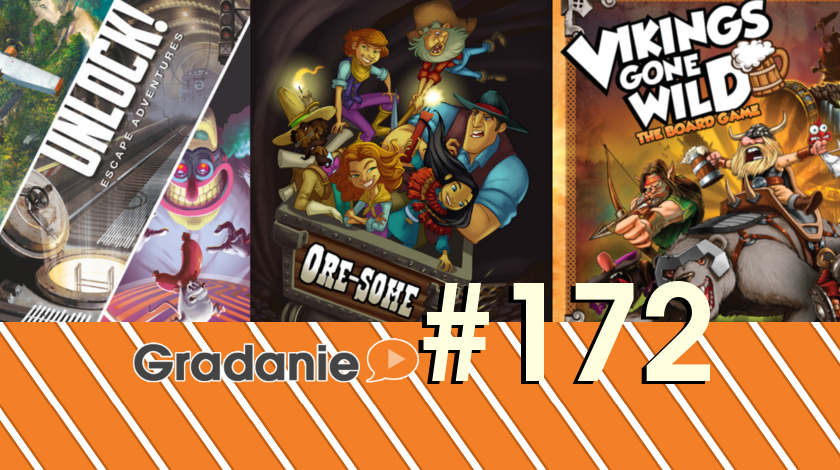 Unlock!, ORE-SOME!, Vikings Gone Wild – Gradanie #172