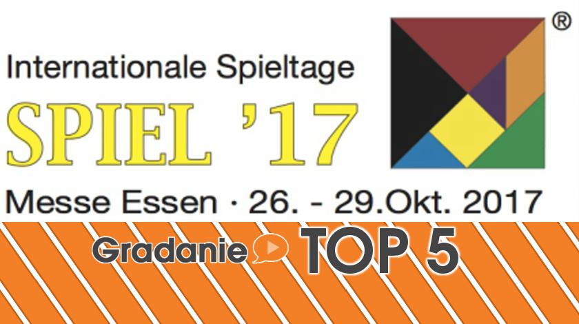 Najbardziej oczekiwane premiery targów Spiel 2017 – Gradanie TOP5