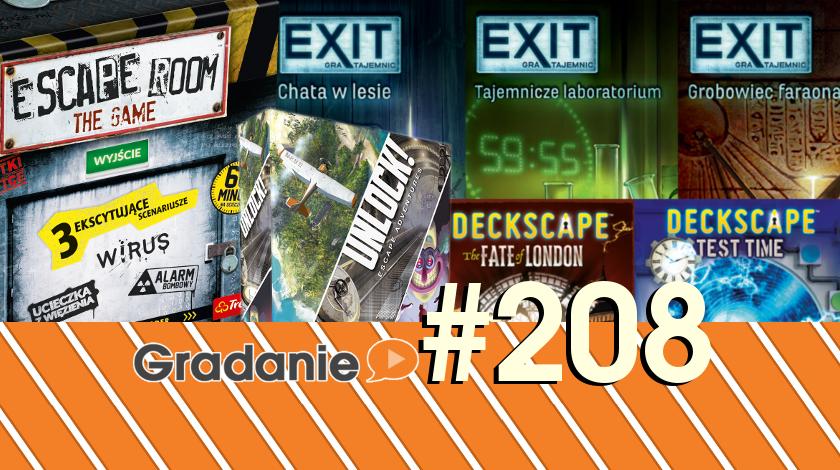 Unlock, EXIT, Deckscape, Escape Room – Gradanie #208