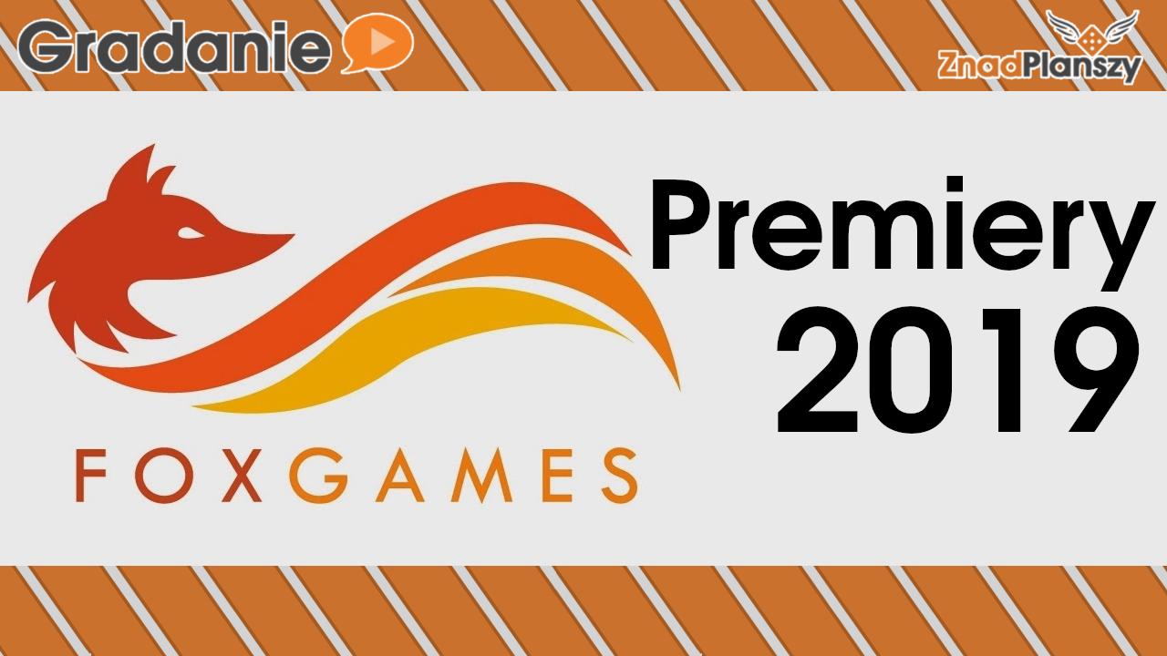 Premiery FoxGames w 2019 roku – Gradanie w aucie