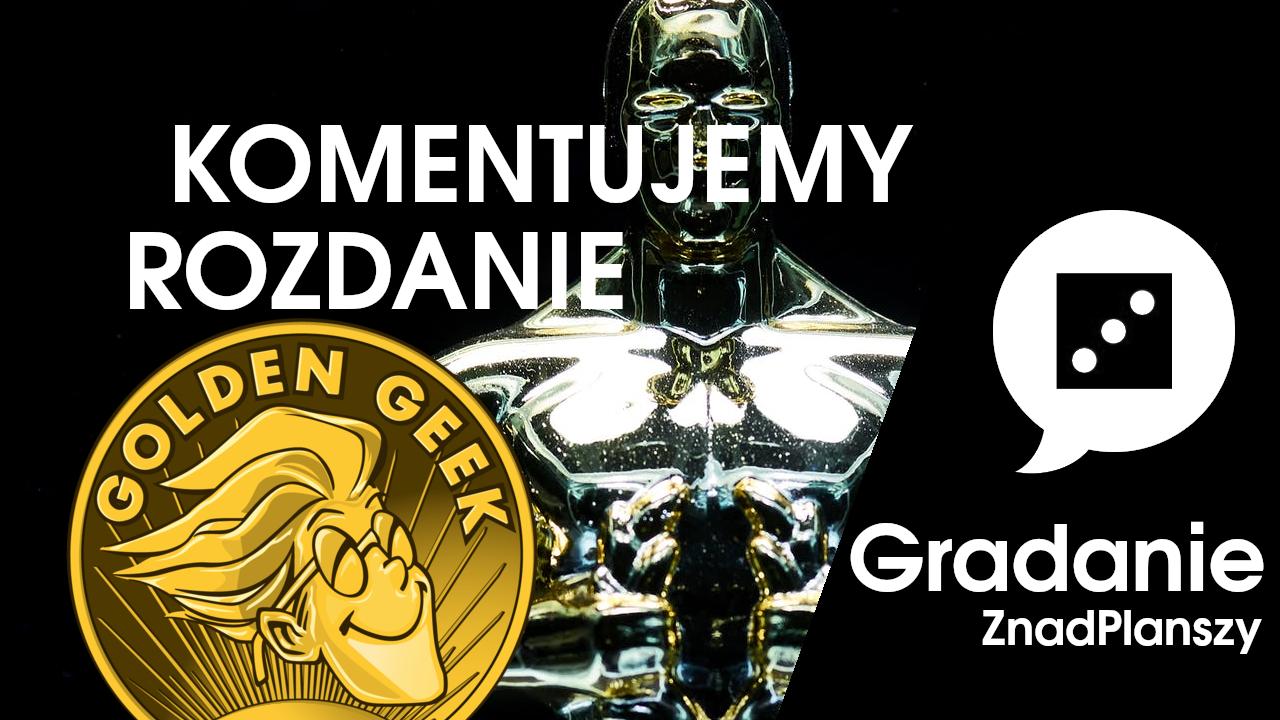 Komentujemy rozdanie Golden Geek za rok 2019