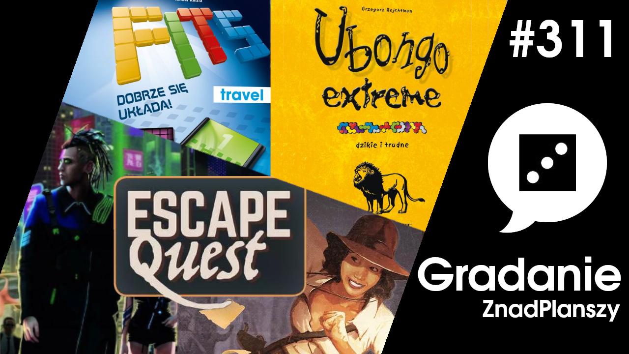 Escape Quest / FITS / Ubongo Extreme – Gradanie #311