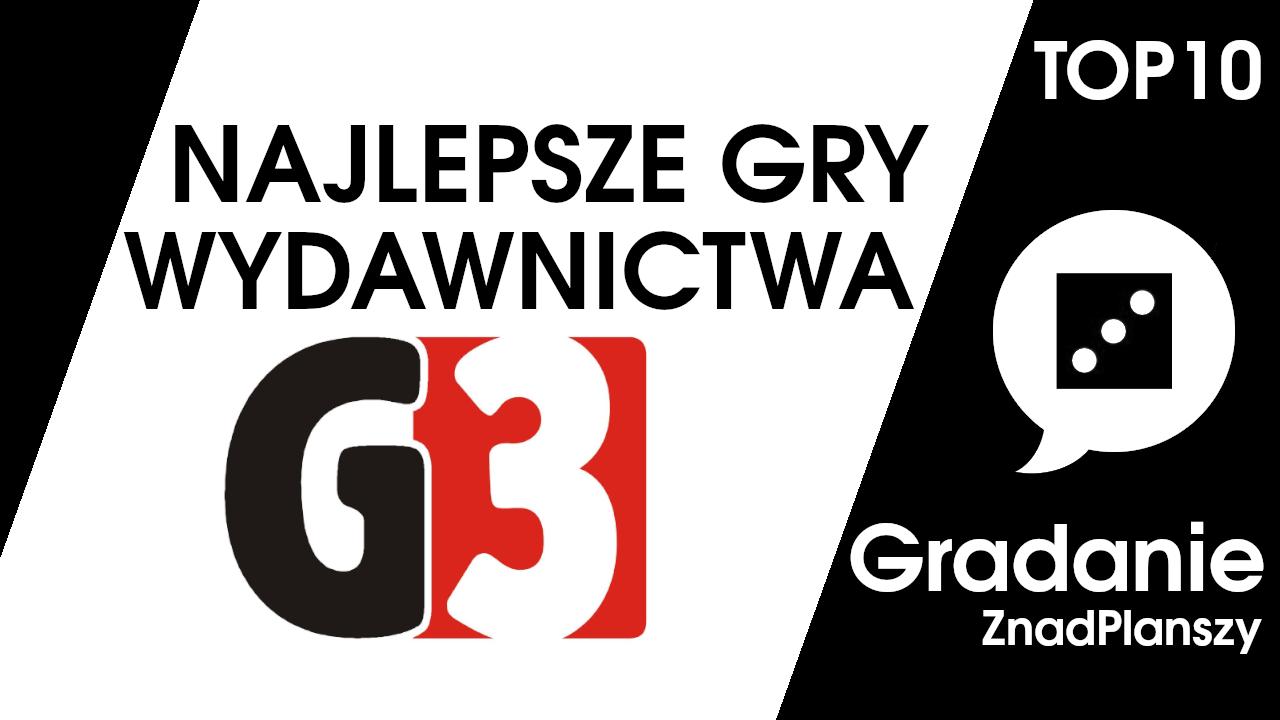 TOP 10 najlepszych gier wydawnictwa G3 – Gradanie