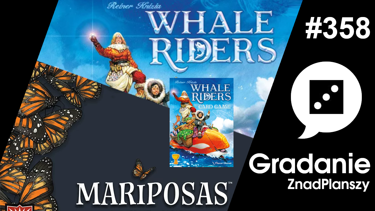 Mariposas / Whale Riders + The Card Game